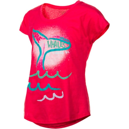 Billabong Im A Mermaid Shirt - Short-Sleeve - Girls'