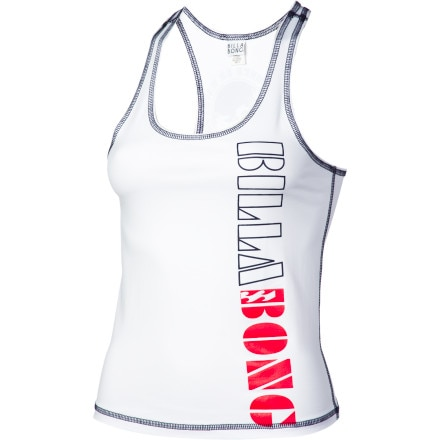 Billabong Kat Racer Back Tank Top Rashguard - Women's