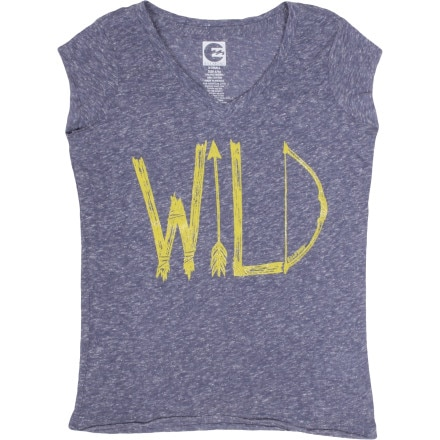 Billabong Wild Side Of Sea Shirt - Short-Sleeve - Girls'