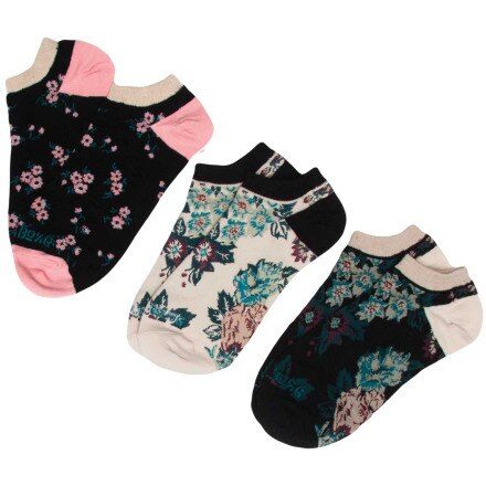 Billabong Fancy Dants Socks - 3-Pack