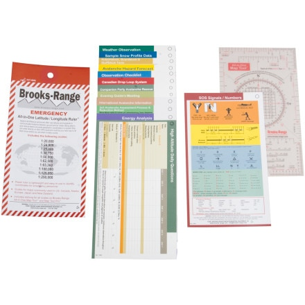 photo: Brooks-Range Winter Traveler Tool Kit backcountry ski book