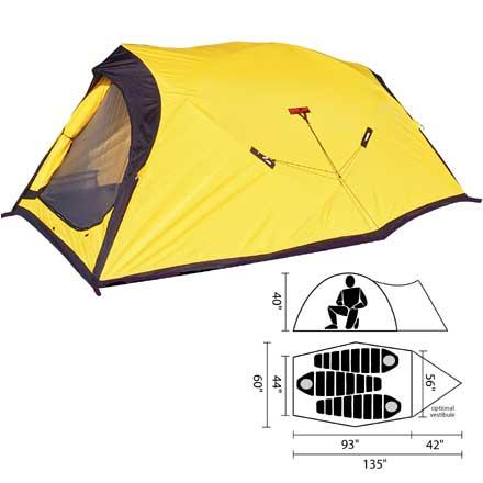 Shop for Black Diamond Fitzroy Tent: 3-Person 4-Season