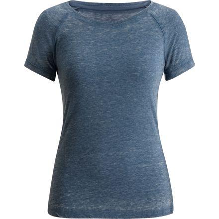 Black diamond pingora t shirt short sleeve women 39 s for Diamond and silk t shirts