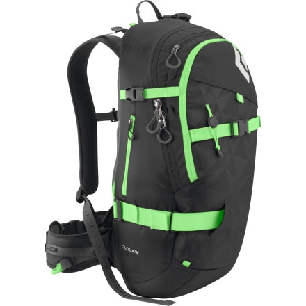 Black Diamond Outlaw Winter Pack - 1831-1953cu in