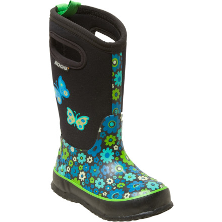 Bogs Classic Daisy Love Me Boot - Little Girls'
