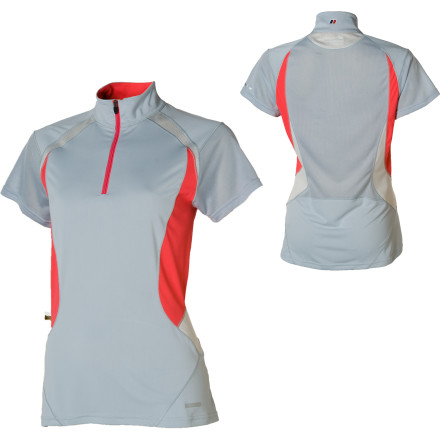 Berghaus ARG Cool Base Zip Top - Short-Sleeve