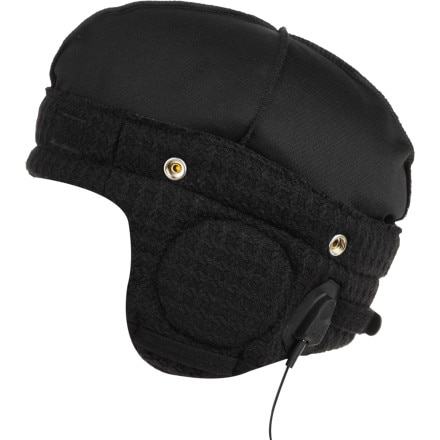 Bern Adjustable Audio Black Knit Helmet Liner - Men's