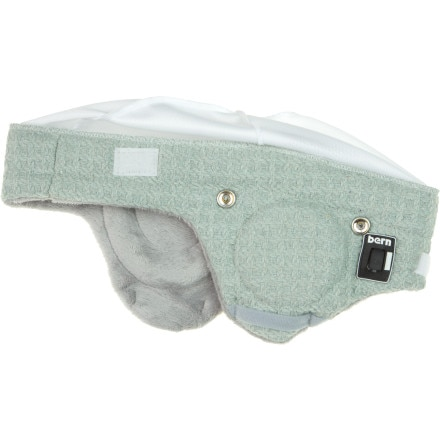 Bern Adjustable Audio Grey Knit Helmet Liner - Women's