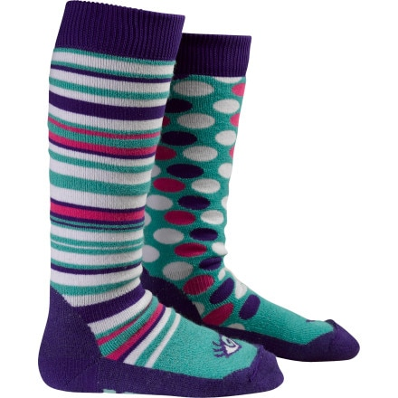 photo: Burton Women's Party Socks snowsport sock