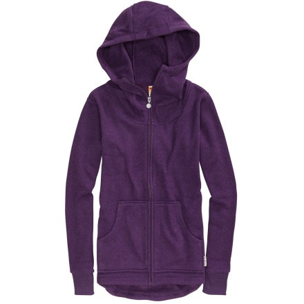 photo: Burton Hangover Hoodie fleece jacket