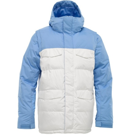 photo: Burton Deerfield Puffy Jacket synthetic insulated jacket