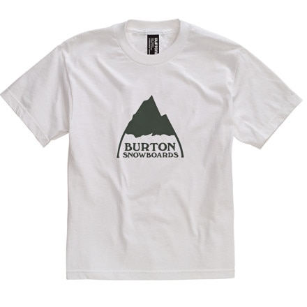 Burton Mountain Logo T-Shirt - Short-Sleeve - Boys'