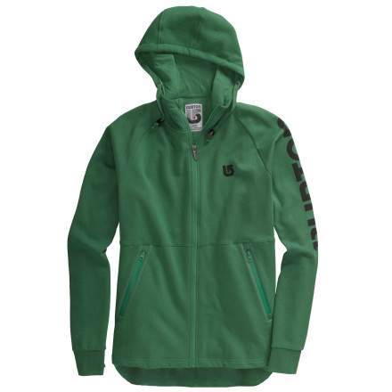 photo: Burton Burrtech Premium Full-Zip Hoodie fleece jacket
