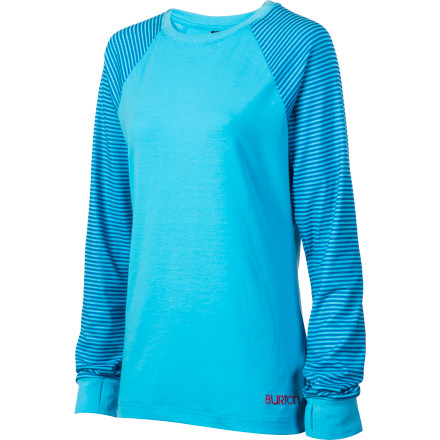 photo: Burton Player Long Sleeve base layer top