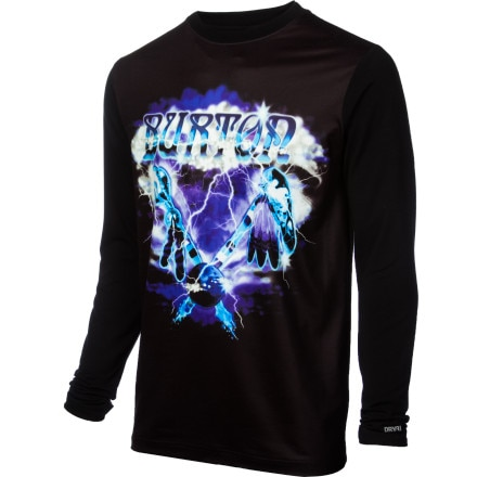 photo: Burton Tech Long Sleeve Tee