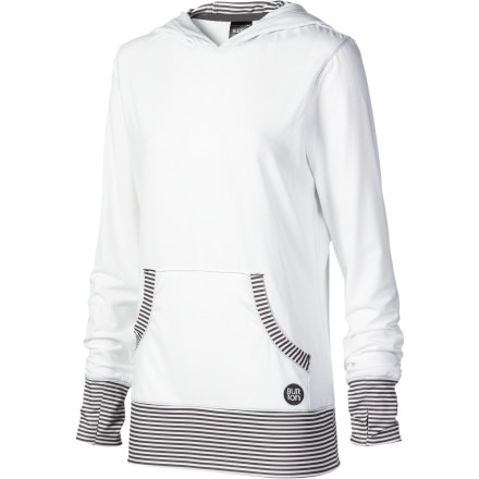 photo: Burton Player Pullover Hooded Tee