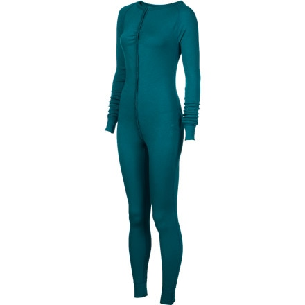photo: Burton Luxury Midweight One-Piece one-piece base layer