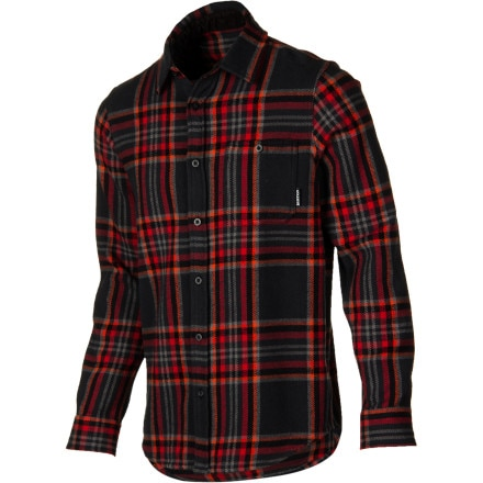 Burton Teton Woven Flannel Shirt - Long-Sleeve - Men's