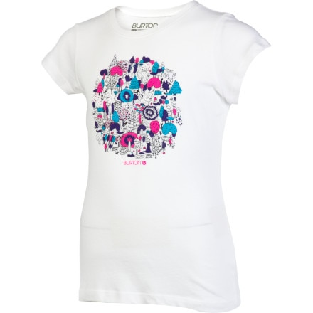 Burton Friends of the Forest T-Shirt - Short-Sleeve - Girls'