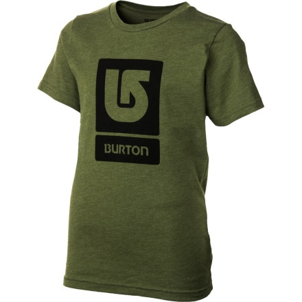 Shop for Burton Logo Vertical T-Shirt - Short-Sleeve - Boys'