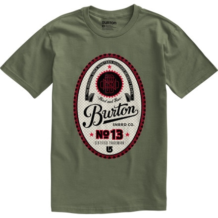 Burton Microbrew T-Shirt - Short-Sleeve - Men's
