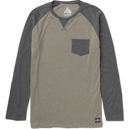 Burton Dagger Raglan Pocket T-Shirt - Long-Sleeve - Men's