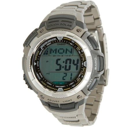 photo: Casio Pathfinder PAW1100T-7V altimeter