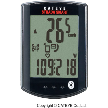 CatEye Strada Smart Bike Computer Bundle