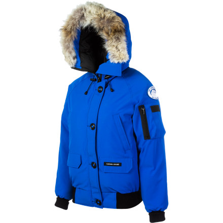 Canada Goose Polar Bears International Chilliwack Down Bomber Jacket - Women's