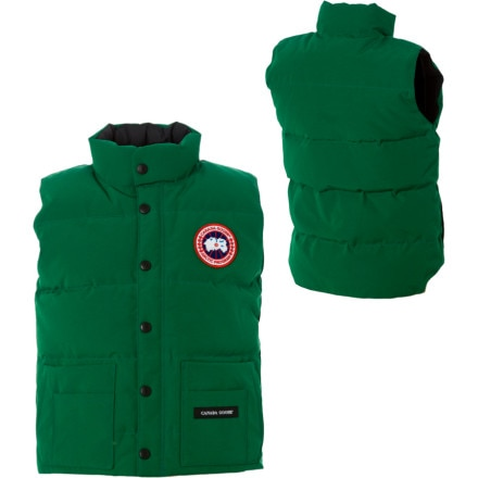photo: Canada Goose Kids' Freestyle Vest down insulated vest