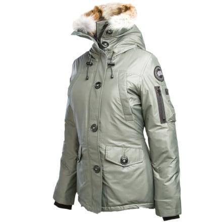 photo: Canada Goose Montebello CG55 Parka down insulated jacket