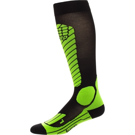 CEP Racing Ski Compression Sock - Men's - Socks - Men's Clothing ...