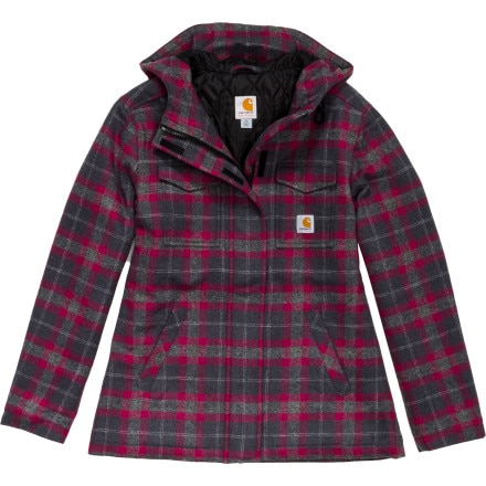Carhartt Camden Plaid Wool Parka - Women's
