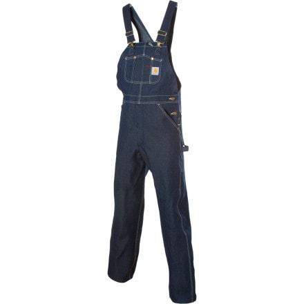 Carhartt Denim Bib Overall Pant - Men's