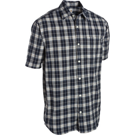 Carhartt Lightweight Plaid Shirt - Short-Sleeve - Men's