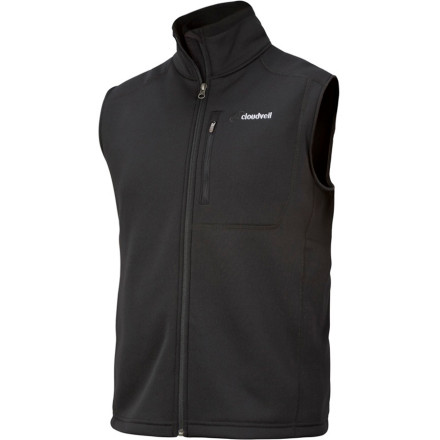 photo: Cloudveil Run Don't Walk Vest soft shell vest