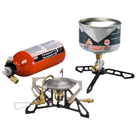 photo: Coleman Fyrestorm Ti Stove multi-fuel stove