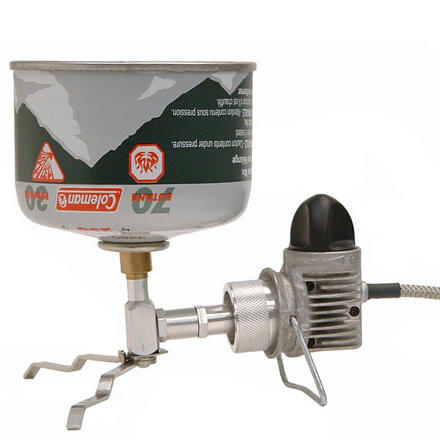 photo: Coleman PowerMax Fuel Adapter stove accessory