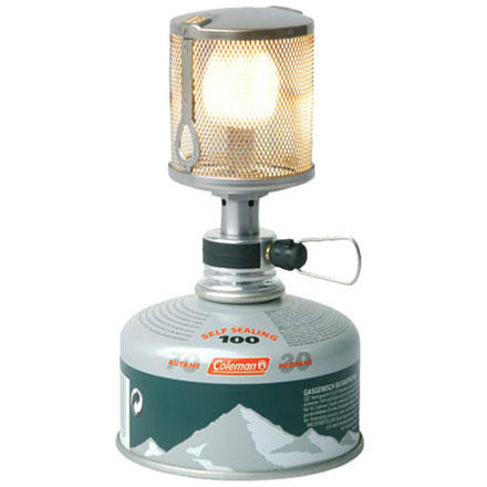 photo: Coleman F1 Lite Lantern fuel-burning lantern