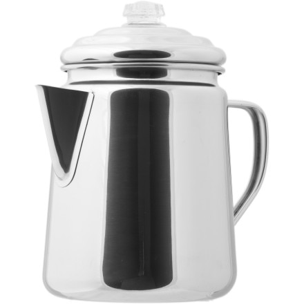 photo: Coleman Stainless Steel Percolator kettle