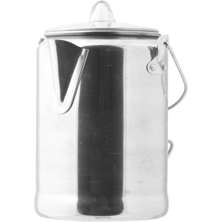 photo: Coleman Aluminum Coffeepot kettle