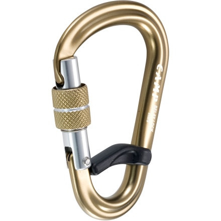 CAMP USA HMS Belay Lock Carabiner