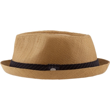 Coal Considered Parker Paper Straw Fedora