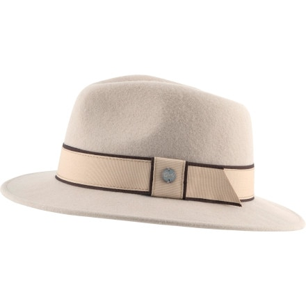 Coal Considered Brighton Fedora - Women's