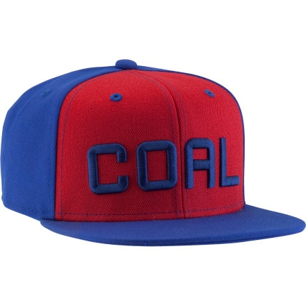 Coal Kerning Snap-Back Hat