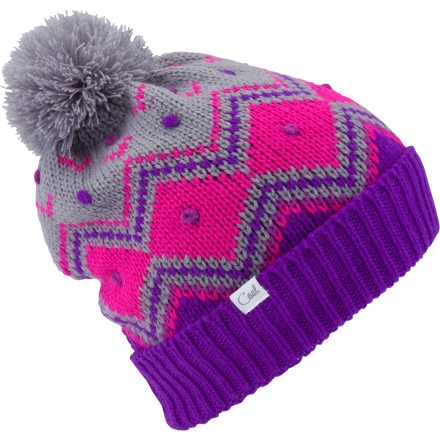 Coal Bubbles Pom Beanie - Women's