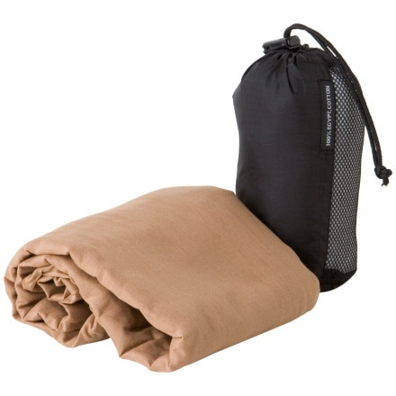 photo: Cocoon Egyptian Cotton MummyLiner sleeping bag liner