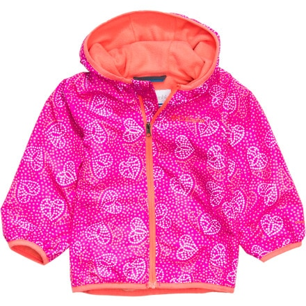 Columbia Mini Pixel Grabber II Wind Jacket - Infant Girls'