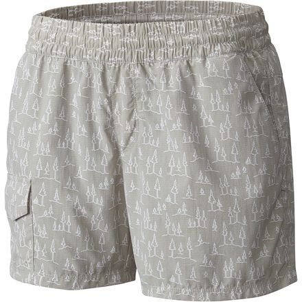 Columbia Silver Ridge Printed Pull On Short - Womens