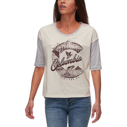 Columbia CSC 503 Graphic T-Shirt - Womens
